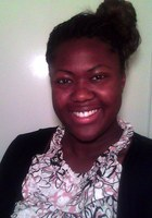 A photo of Bridgette who is one of our Atlanta Middle School Math tutors
