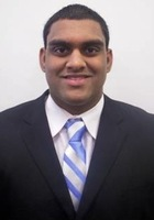 A photo of Satish who is one of our Science tutors in Washington DC