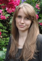 A photo of Marta who is one of our German tutors