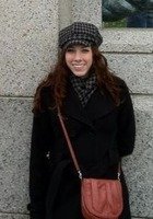 A photo of Kasey who is one of our Writing tutors in Washington DC