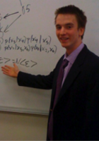 A photo of Daniel who is one of our Biostatistics tutors