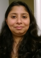 A photo of Yasmin who is one of our Biostatistics tutors