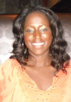 A photo of Muriel who is one of our Spanish tutors
