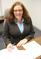 A photo of Loretta who is one of our LSAT tutors