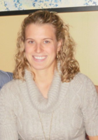 A photo of Krista who is one of our Microbiology tutors