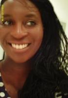 A photo of Mahalia who is one of our French tutors