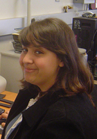A photo of Sara who is one of our tutors