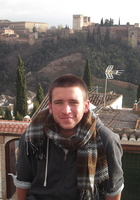 A photo of Andrew who is one of our English tutors in Chicago, IL
