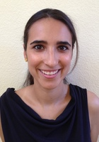 A photo of Mariana who is one of our Physics tutors
