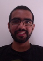 A photo of Abdullah who is one of our GRE tutors in Washington DC