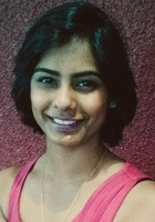 A photo of Amrutha who is one of our PSAT tutors