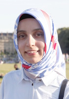 A photo of Mualla who is one of our tutors in Washington DC