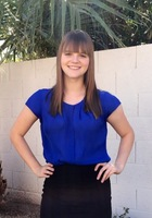 A photo of Abigail who is one of our Reading tutors in Phoenix, AZ