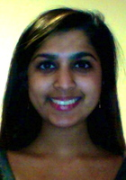 A photo of Purvi who is one of our Grammar and Mechanics tutors in Washington DC