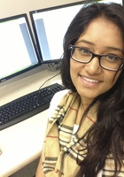 A photo of Lalitha who is one of our Math tutors in Washington DC