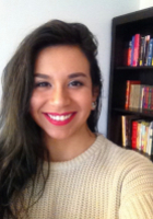 A photo of Mercedes who is one of our Writing tutors in Washington DC