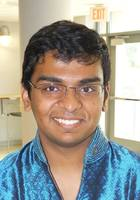 A photo of Nikhil who is one of our Science tutors in Washington DC