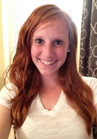 A photo of Stephani who is one of our English tutors in Washington DC