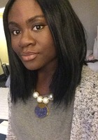 A photo of Christina  who is one of our SAT Verbal tutors in Washington DC