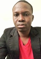 A photo of Aboubacar who is one of our Pre-Calculus tutors in Washington DC